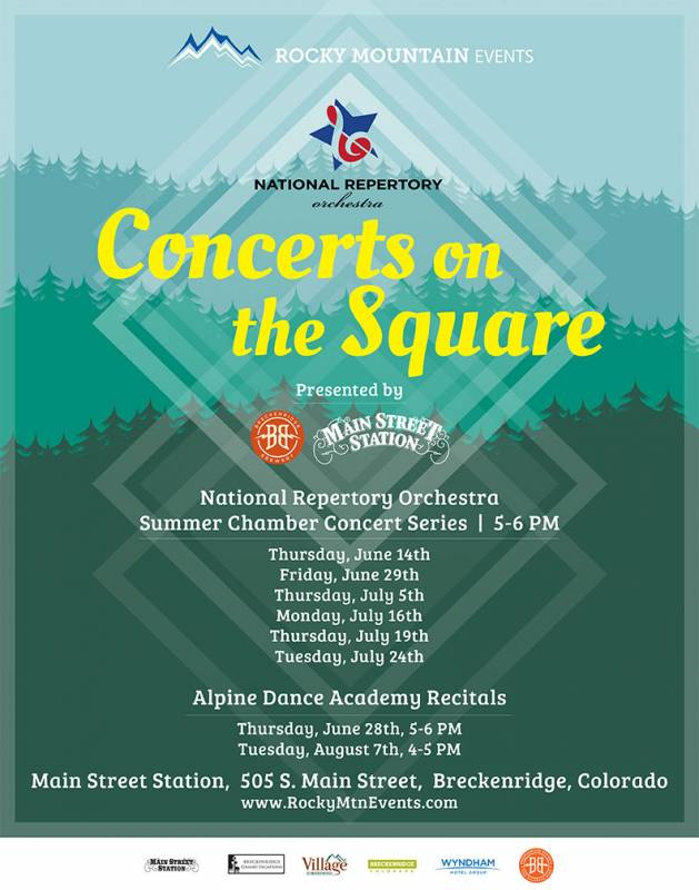 Concerts on the Square 2018